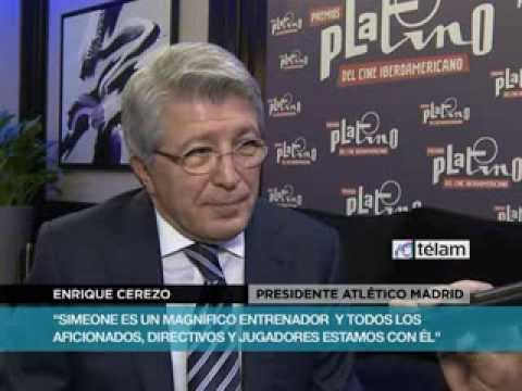 """""""Messi es el mejor jugador del mundo"""", aseguró el presidente del Atlético Madrid"""