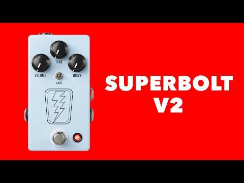 JHS SuperBolt V2 Overdrive Pedal