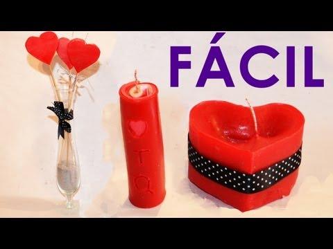 Velas decorativas, 3 Ideas fáciles y rápidas para hacer velas de cera | Velas caseras aromáticas