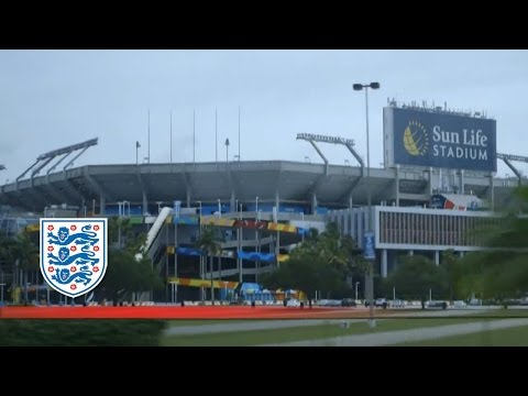 Gary Cahill wowed by Miami Dolphins stadium | Inside Access