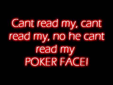 lady gaga poker face lyrics video