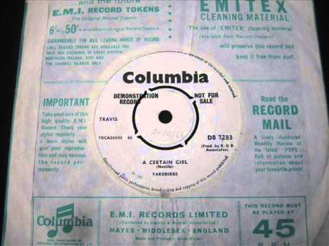 Miniatura del vídeo Yardbirds -  'A certain Girl'