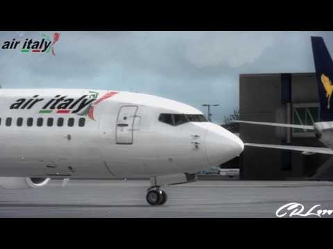 [FSX] Air italy.eu 737-800 Depature Bari Airport RW07