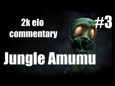 League of Legends Commentary/Analysis #3 | 1400 Jungle Amumu by high elo player