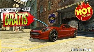 GTA V: Como Pegar Carros Da Edição De Colecionador
