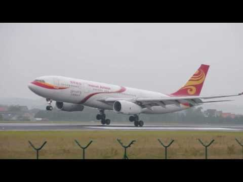 Hainan Airlines 'Dynasty' A330-200 Landing RWY 25L @Brussels Airport