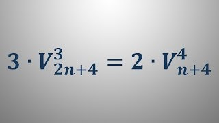 Variacije 10 – faktorska enačba