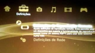TUTORIAL Como Conectar O PS3 Na Internet Português