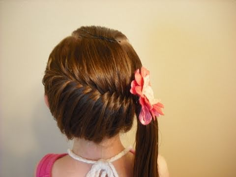 Hair Style Vedios : Side Swept French Fish Braid Hairstyle, For more hair ideas, visit our ...