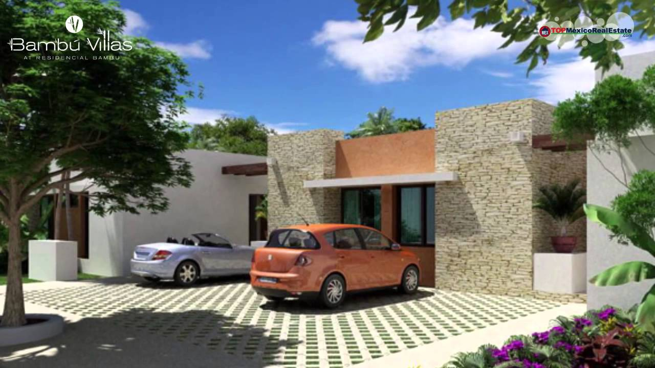 Playa del carmen real estate homes for sale bambu villas for Actual muebles playa del carmen