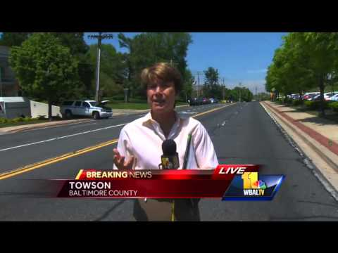 Jayne Miller reports from WMAR crash