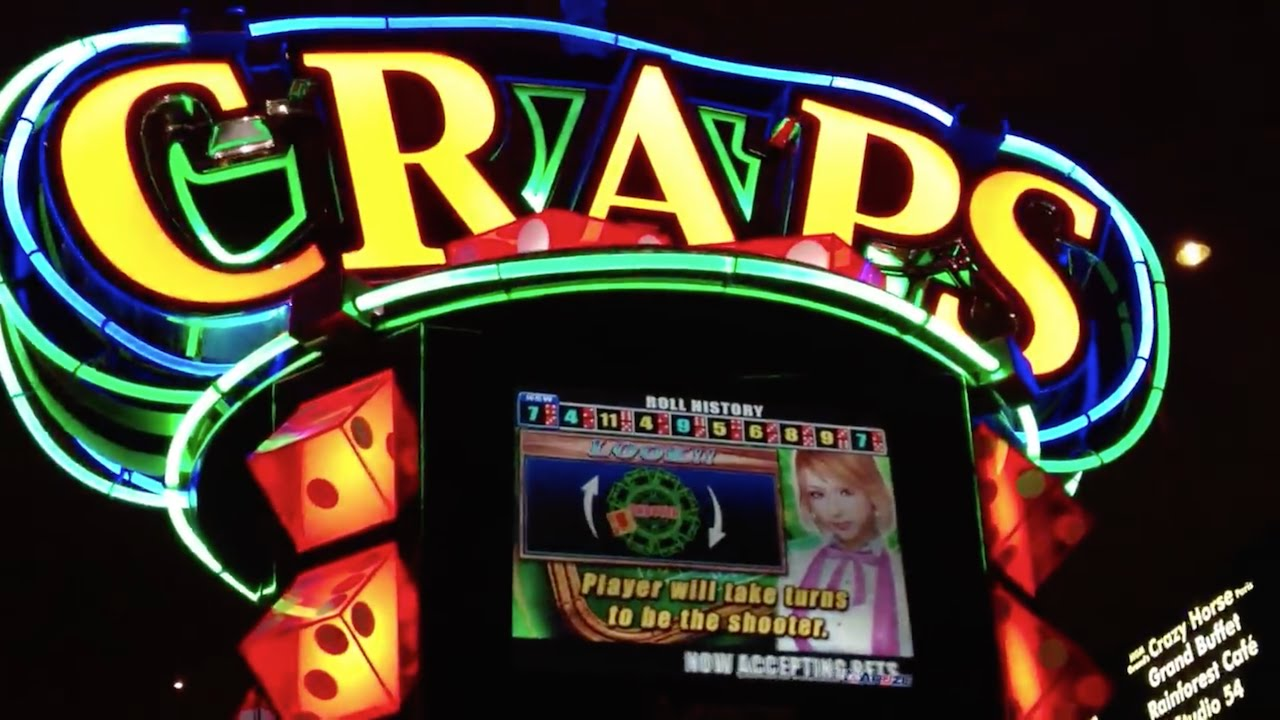 craps slot machines