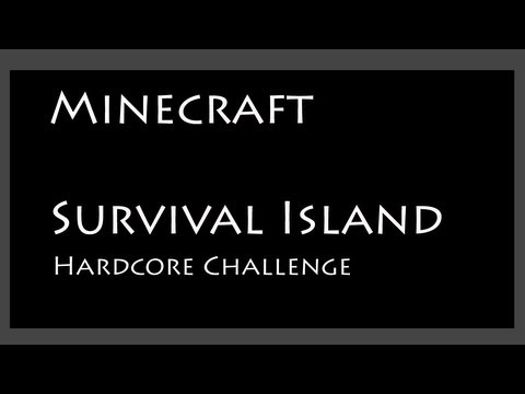Minecraft Hardcore Survival Island Challenge - part 1 - A new challenge (working v1.5.2 seed)