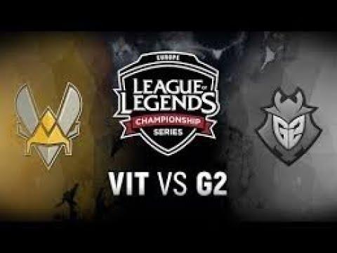 EU LCS 2018 Summer Split Tiebreaker | G2 vs VIT - Team Vitality vs. G2 Esports