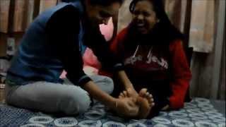 Indian Foot Tickling 1: Niki