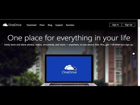 Microsoft OneDrive SkyDrive Mac Tutorial 2014
