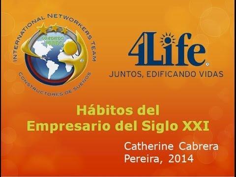 Habitos del Empresario del Siglo XXI  Catherine Cabrera Pereira 2014