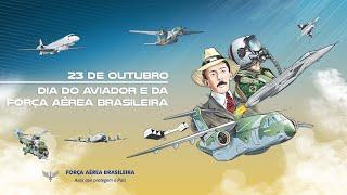 Assista ao vídeo em homenagem ao Dia do Aviador e da Força Aérea Brasileira a todos os civis e militares, pelo reconhecimento aos serviços prestados à FAB e ao País.