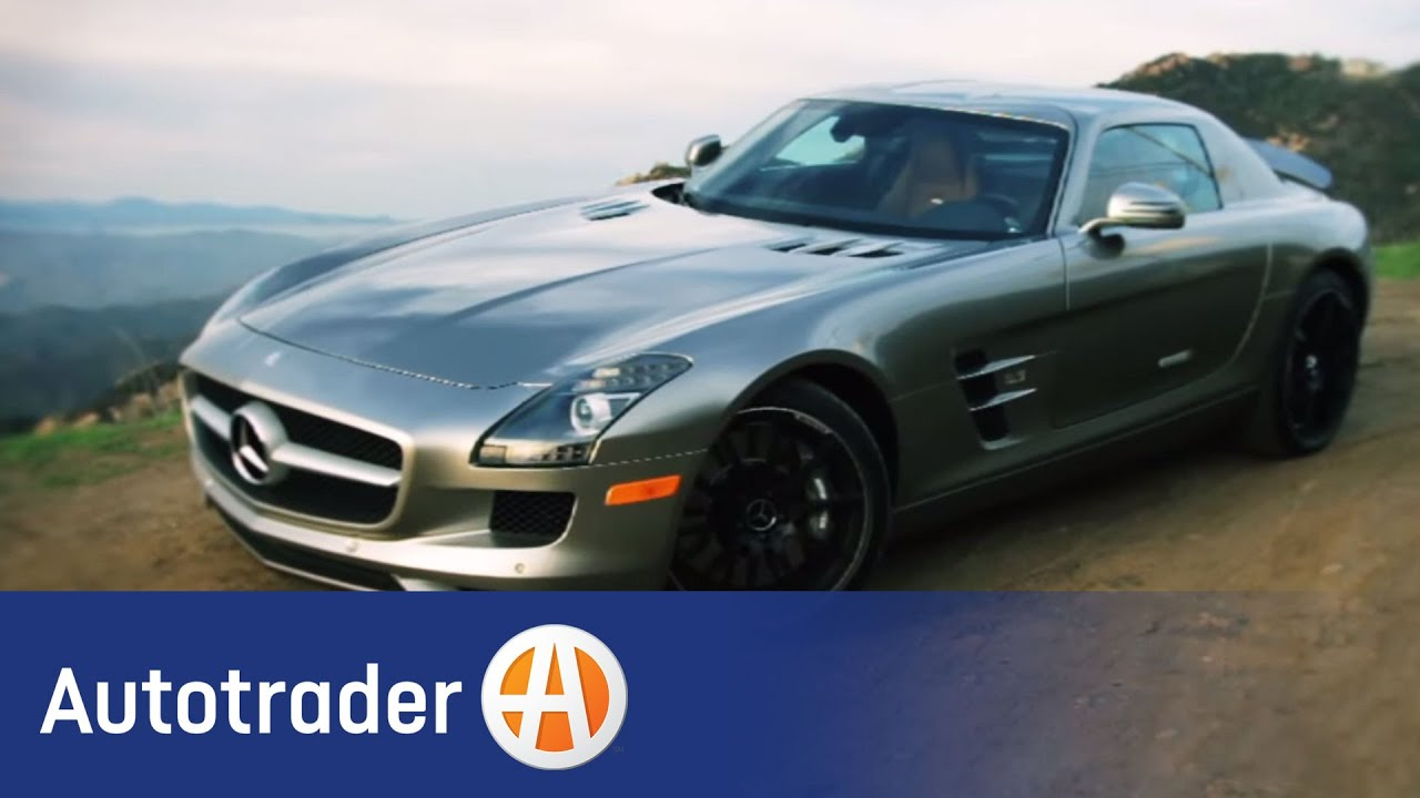 2012 mercedes benz sls amg coupe new car review for Auto trader mercedes benz
