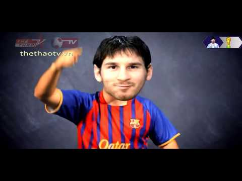 Anh Messi che con buom xuan
