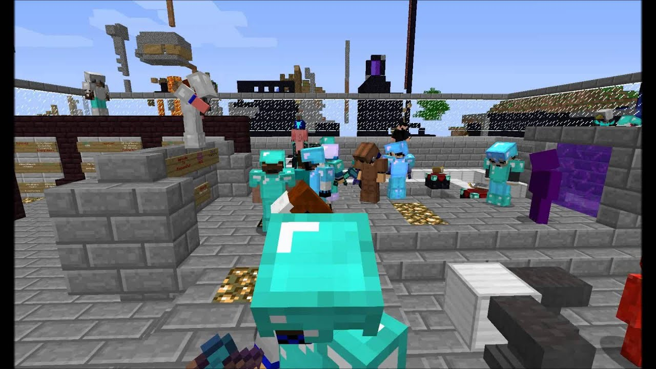 Minecraft best pvp faction server ever youtube