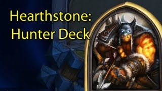 Hearthstone: Ranked Hunter/Rexxar Deck with Wowcrendor (Closed Beta Gameplay)