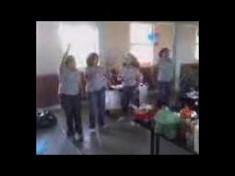 Maestras bailarinas del cetis 125
