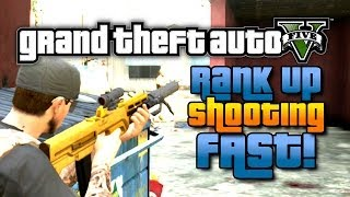 GTA 5 Online Fastest Way To Skill Up Shooting Solo W