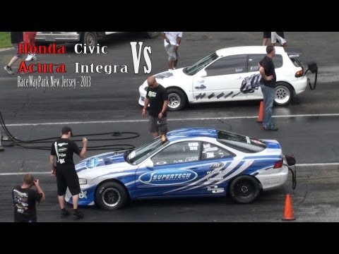 Honda Civic vs Acura Integra