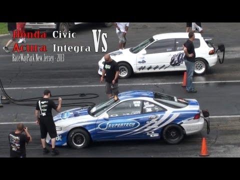 Honda Civic vs Acura Integra