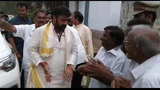 My dhoti will fall off; Balakrishna to greeting fans..