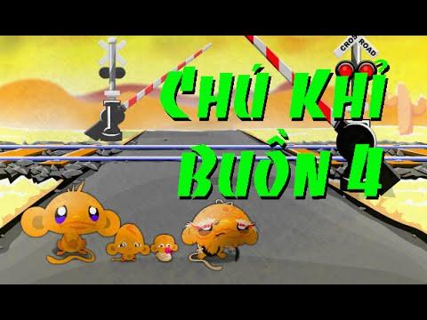 Game chú khỉ buồn 4 - Video hướng dẫn đáp án chú khỉ buồn 4