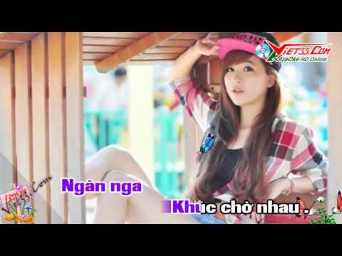 Chim Trắng Mồ Côi KaraOke   Remix DJ   Nhạc Sống   Clip Gái Cực Xinh