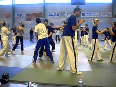 Yoseikan sparring Mario Ambrosini à Carmaux