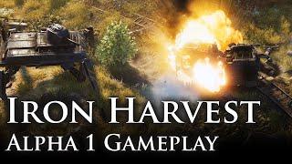 Iron Harvest - Alfa Játékmenet