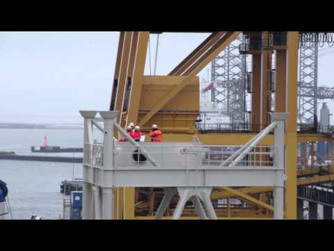 Pioneer Work on the High Seas -- How to Install an Offshore Wind Turbine
