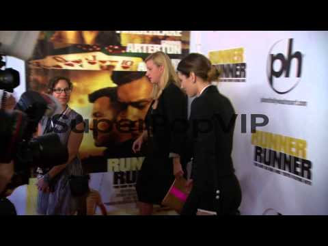 Justin Timberlake, Jessica Biel at 'Runner Runner' World ...