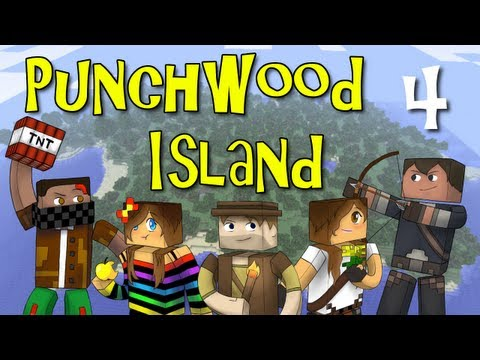 "Punchwood Island E04 ""Dungeon!"" (Minecraft Family Survival)"
