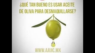 ¿Usar aceite de oliva para desmaquillarse?