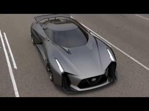 سيارة نيسان تتحدى مركبة باتمان بتصميمها المستقبلي