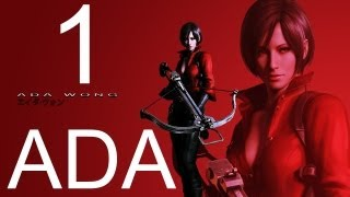Resident Evil 6 Walkthrough Part 1 HD ADA Walkthrough