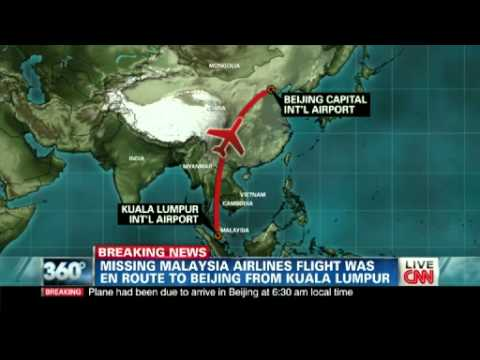 Richard Quest: Malaysia Airlines MH370 jet was 'at safest point' in flight
