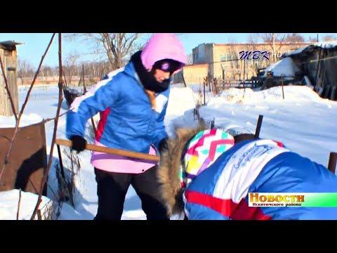 Снежный десант - в Искитимском районе. Селянам – в помощь