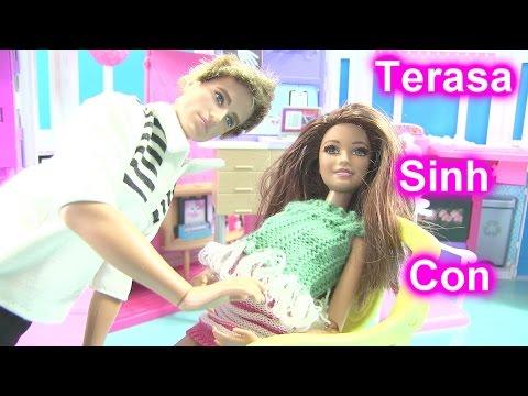 Cuộc Sống Barbie & Ken (Mùa 2) [Tập 13] Phép Thuật Băng Giá Của Elsa Giúp Terasa Sinh Con