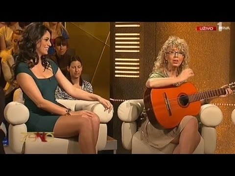 Marija Kilibarda Beautiful Serbian Tv Presenter 14.04.2012