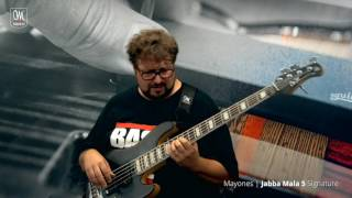 Federico Malaman presents his Mayones Jabba Mala 5 Signature Bass