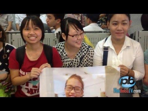 Fan Hà Nội và các tỉnh phía Bắc đón thần tượng nhí Phương Mỹ Chi