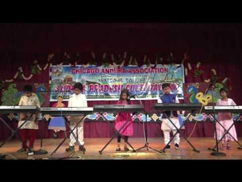 CAA - AP Cultural Festival - Oct 16th 2016 -   Item-8 - KidsOnKeys