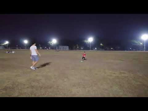 foot ball with Daddy and Phil Andrei