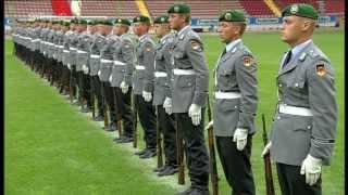 Drillteam Der 7. Kompanie Wachbataillon BMVg